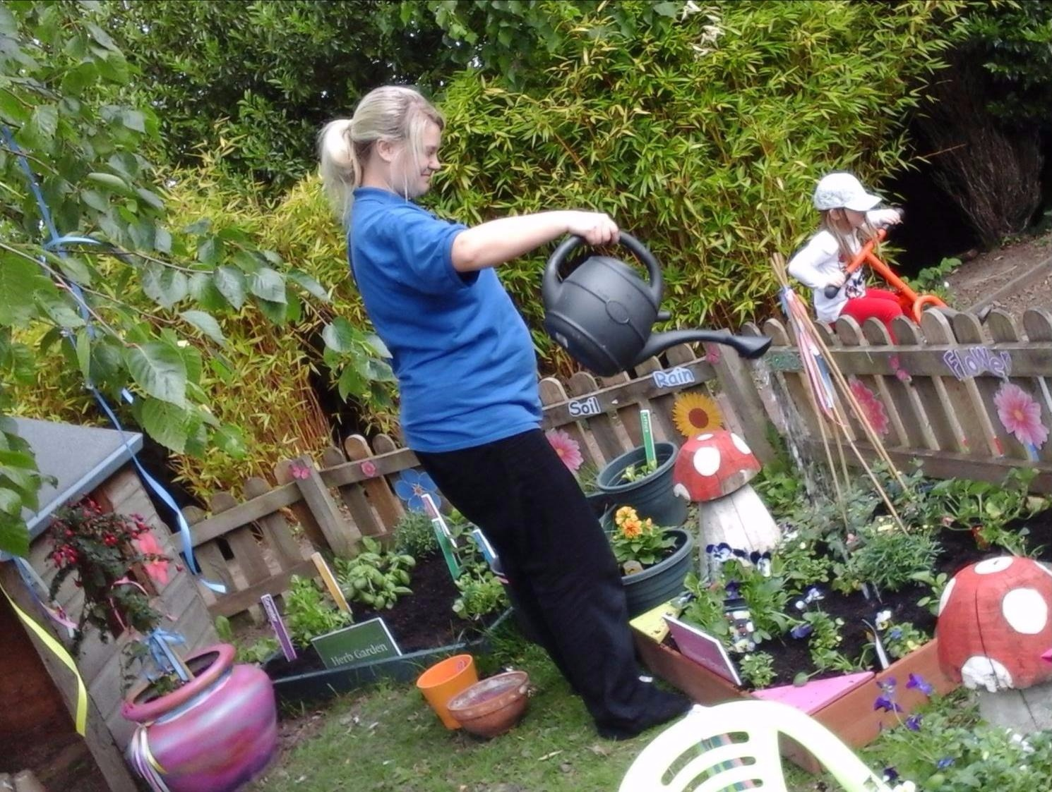 Green-fingered fun at Kids 1st Hexham
