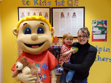 Introducing… Bobby – The Kids 1st Mascot