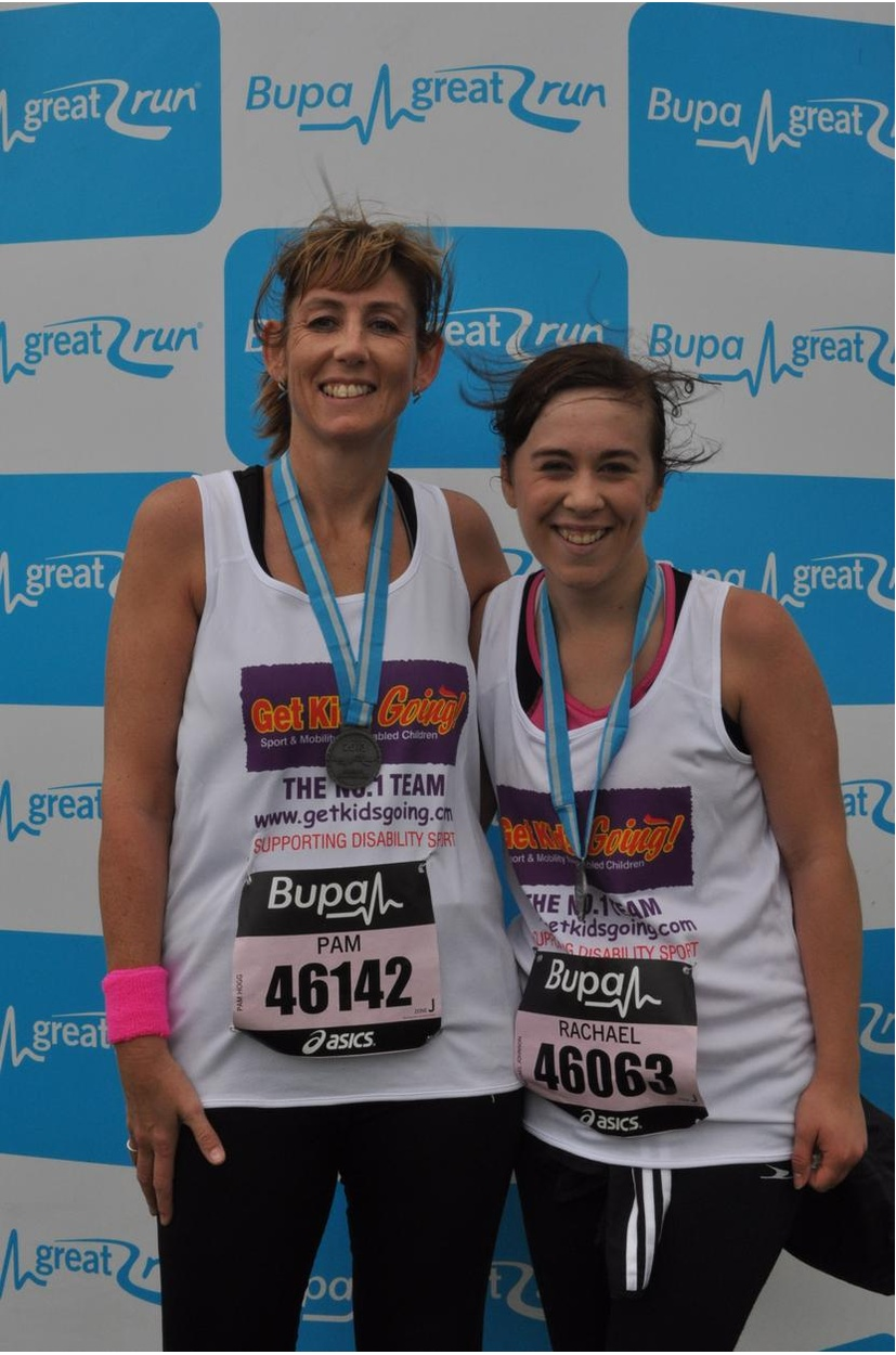 Great North Run Congratulations