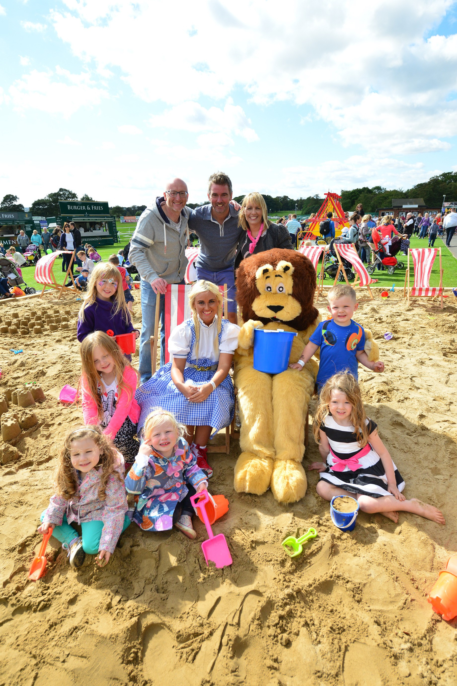 Kids 1st and Helen McArdle Care Fun Day raises over £1500 for The Children's Foundation
