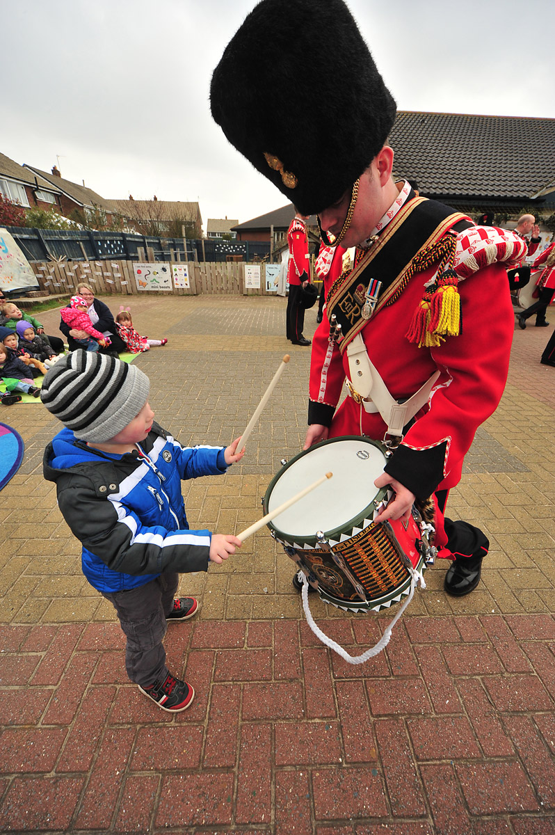 Kids 1st celebrates 10 years with the Royal Regiment of Fusiliers