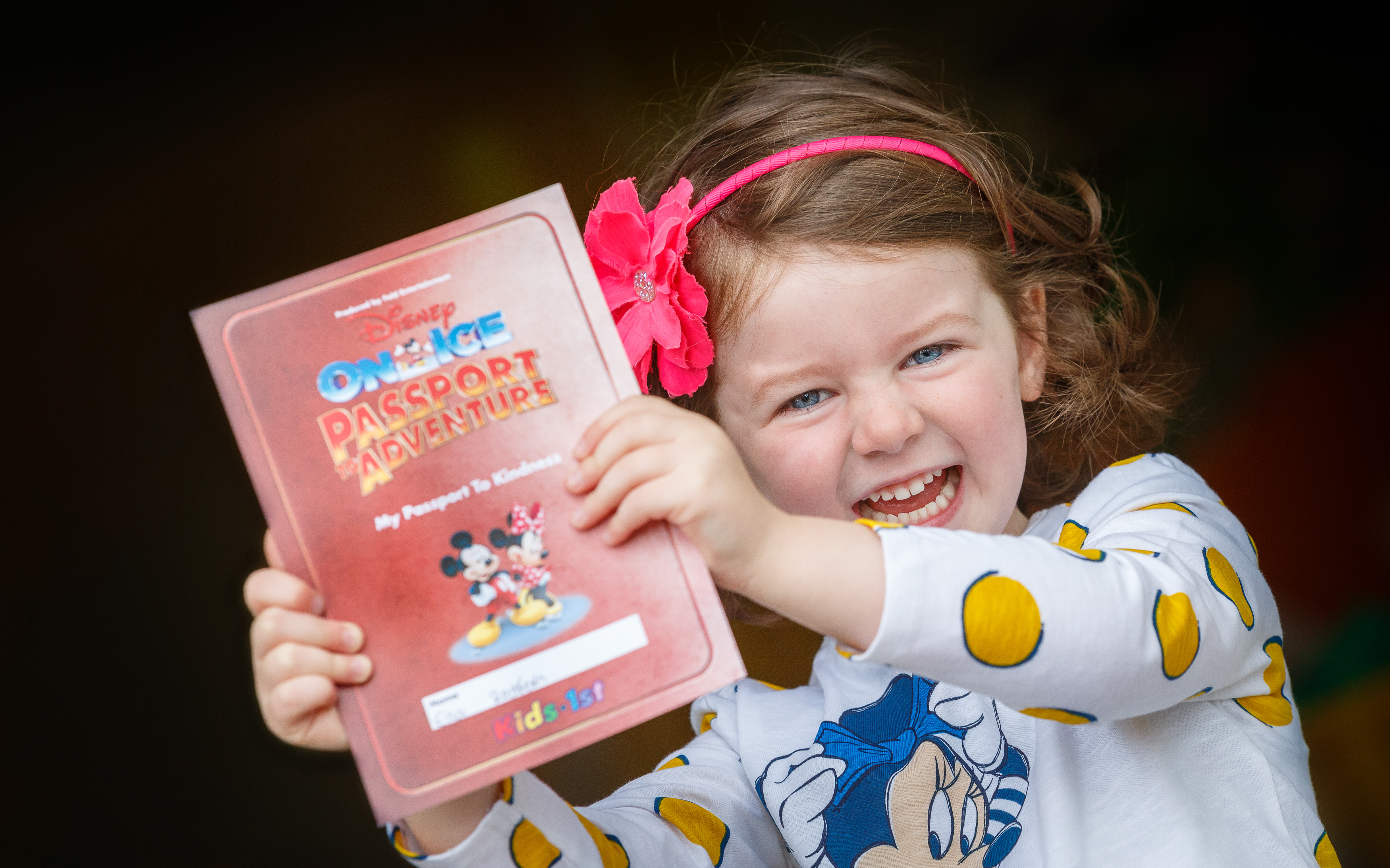 Disney On Ice and Kids 1st launch Passport to Kindness