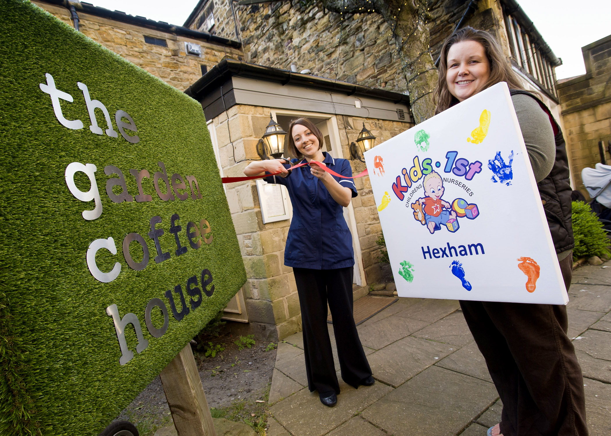 Kids 1st Hexham launches the new Baby Lounge at The Garden Coffee House