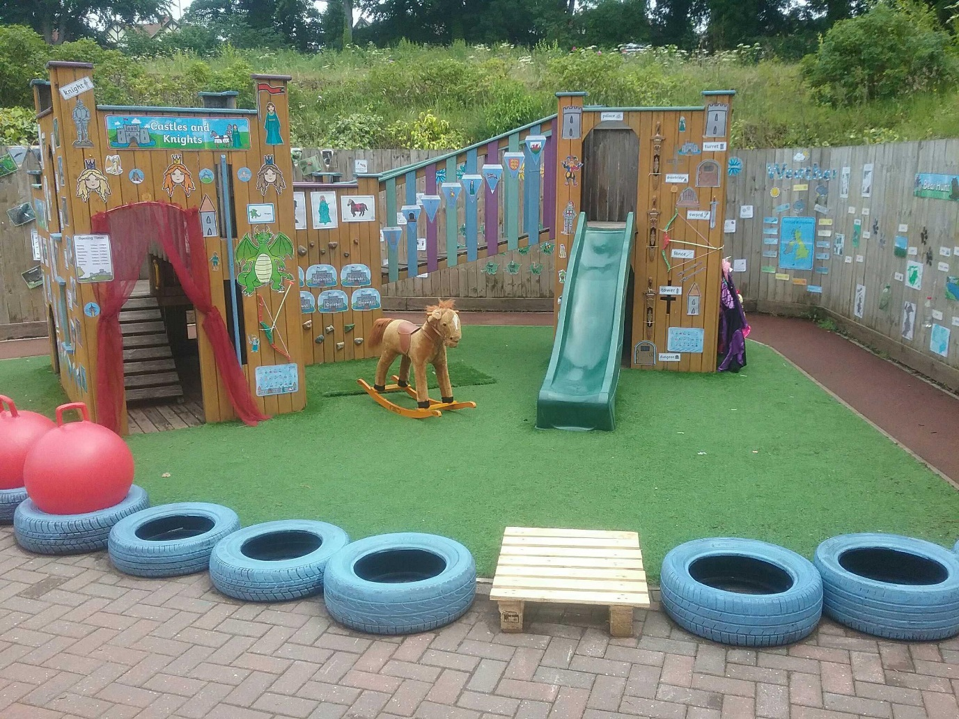 Kids 1st Low Fell garden revamp