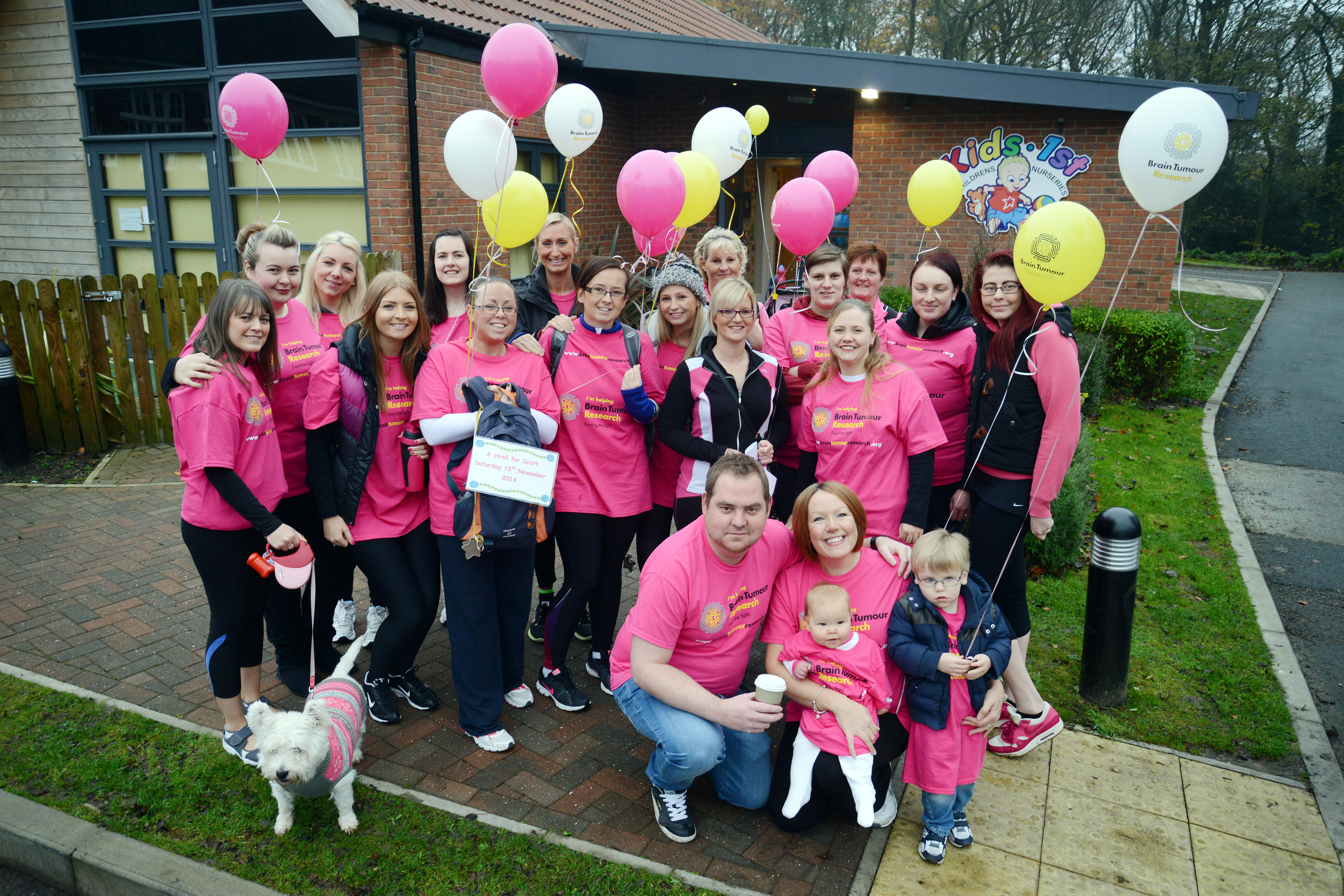 A grand day out for Brain Tumour Research!